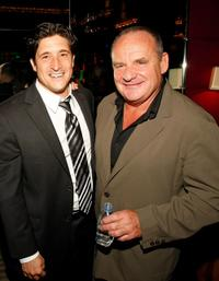 Louis Shaw Milito and Paul Guilfoyle at the after party of the grand opening of
