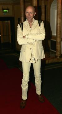 Richard O'Brien at the Make-A-Wish Foundation UK annual fashion show.