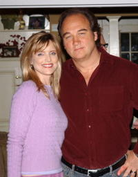 Jim Belushi and Courtney Thorne-Smith at the 100th Episode celebration of
