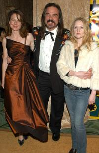 Robin Weigert, W. Earl Brown and Paula Malcomson at the HBO Golden Globe after party.