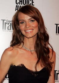 Saffron Burrows at the Conde Nast Traveler Readers' Choice Awards in N.Y.