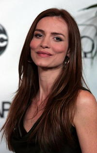 Saffron Burrows at the 2007 ABC All Star Party in Beverly Hills.