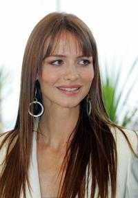 Saffron Burrows at the photocall of
