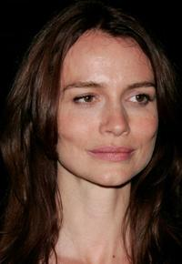 Saffron Burrows at the Los Angeles screening of