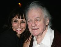 Charles Durning and Natalia Nogulich at the afterparty following the opening night of the Broadway-bound show