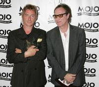 Paul Weller and Ray Davies at the MOJO Honours List 2005, the music magazine's second Annual awards.