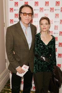 Ray Davies and his wife at the Q Awards 2005.