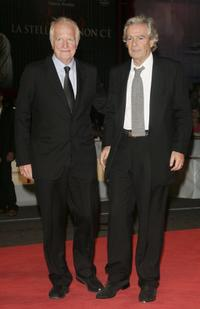 Andre Dussollier and Pierre Arditi at the premiere of the
