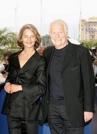 Andre Dussollier and Charlotte Rampling at the photo call for the film