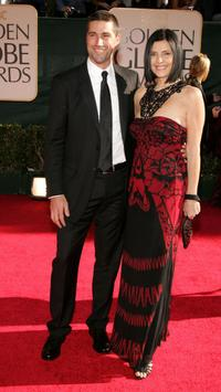 Matthew Fox and wife Margherita Ronchi at the 63rd Annual Golden Globe Awards.