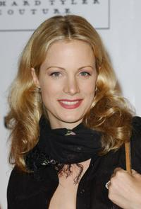 Alison Eastwood at the An Evening of Fashion & Music.