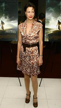 Alison Eastwood at the screening of