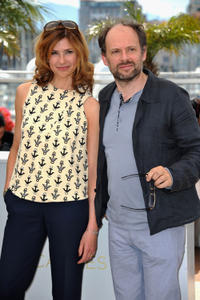 Florence Pernel and Denis Podalydes at the photocall of