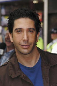 David Schwimmer at the UK premiere of