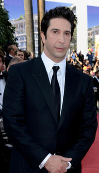David Schwimmer at the France premiere of