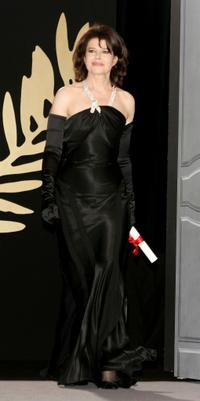Fanny Ardant at the 58th Annual International Cannes Film Festival Closing Ceremony at the Palais during the 58th International Film Festival.
