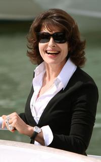 Fanny Ardant at the