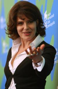 Fanny Ardant at the photocall of