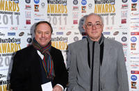 Robert Dawes and Peter Egan at the Whatsonstage.com Awards Concert Launch 2010 in England.