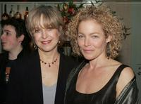 Jill Eikenberry and and Amy Irving at the after party for the opening night of