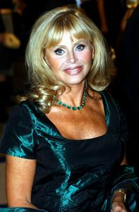 Britt Ekland at the premiere of