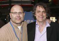 Christopher Meledandri and Chris Wedge at the world premiere of