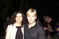Ron Eldard and Julianna Margulies at the Intel tropfest 2002.