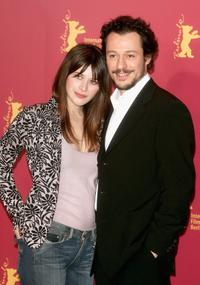 Valentina Cervi and Stefano Accorsi at the photocall of