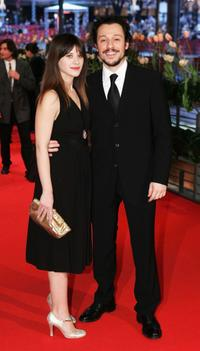 Valentina Cervi and Stefano Accorsi at the premiere of