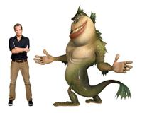 Will Arnett voices The Missing Link in