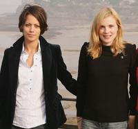 Berenice Bejo and Isabelle Carre at the Dinard British Film Festival.