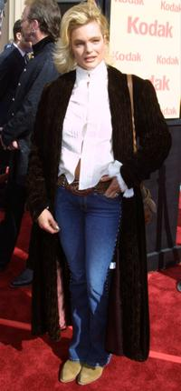 Erika Eleniak at the premiere of the 20th anniversary version of the movie
