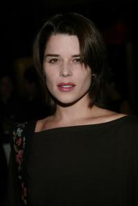 Neve Campbell at the premiere after-party of