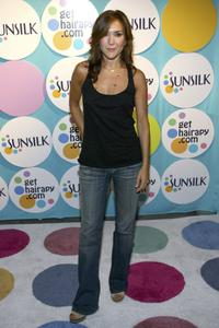Nadia Dajani at the Sunsilk Launch Party.