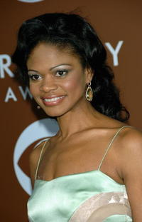 Kimberly Elise at the 48th Annual Grammy Awards in L.A.