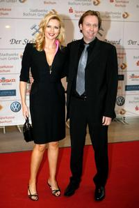 Veronica Ferres and Peter Ferres at the Steiger Awards ceremony.