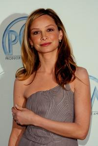 Calista Flockhart at the 18th Annual PGA Awards.