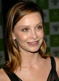 Calista Flockhart at the 15th Annual Environmental Media Awards.