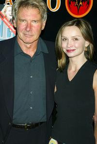 Calista Flockhart and Harrison Ford at the Premiere Magazine's
