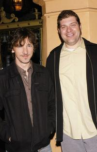 John Hawkes and Brad Henke at the Santa Barbara Film Festival's closing night world premiere of