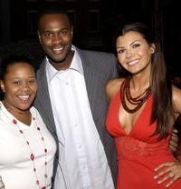 Natalie Desselle-Reid, Brian Hooks and Ali Landry at the UPN Stars Party.