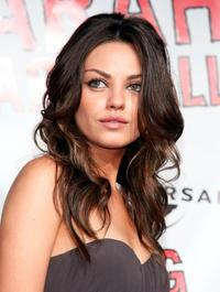 Mila Kunis at the FOX Fall Casino party.