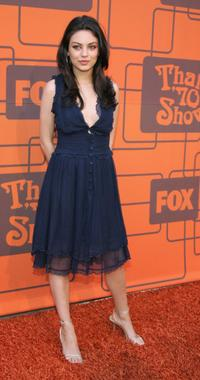 Mila Kunis at the Fox Television