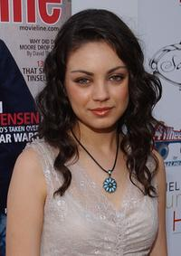 Mila Kunis at the 4th Annual Young Hollywood Awards.