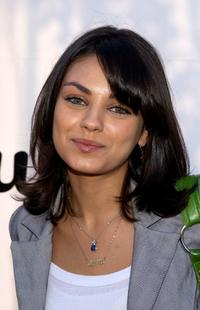 Mila Kunis at the Esquire House Los Angeles-Bvlgari Celebrity Poker Night.