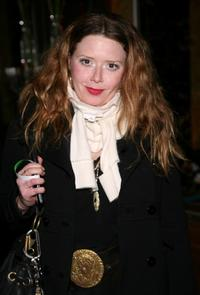 Natasha Lyonne at the Mercedes-Benz Fashion Week.