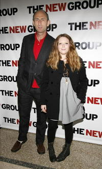David Kale and Natasha Lyonne at the New Group's 2008 Gala.