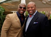 Terry Crews and Chi McBride at the 8th Annual AFI Awards.
