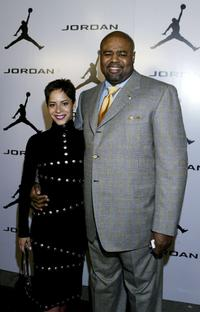 Julissa Marquez and Chi McBride at the