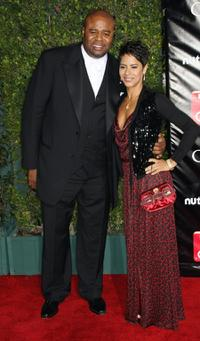Chi McBride and Guest at the TV Guide's Sixth Annual Emmy Awards After Party.